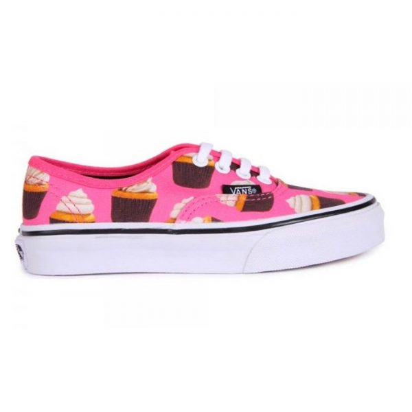 Vans Authentic Bimba Cupckes rosa lacci