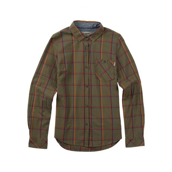 Burton Grace Long Sleeve Woven camicia donna Verde