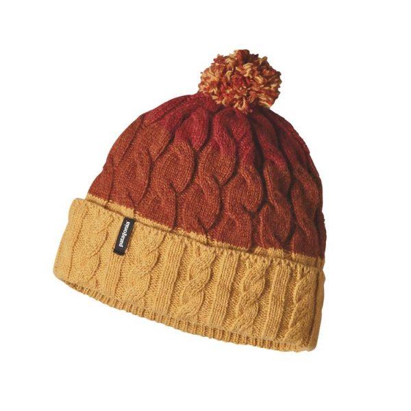 Patagonia Women's Pom Beanie giallo cappellino lana donna