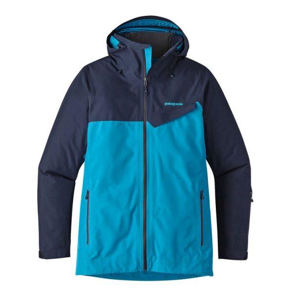 Patagonia Men's Powder Bowl Jacket blu sci giacca uomo snowboard