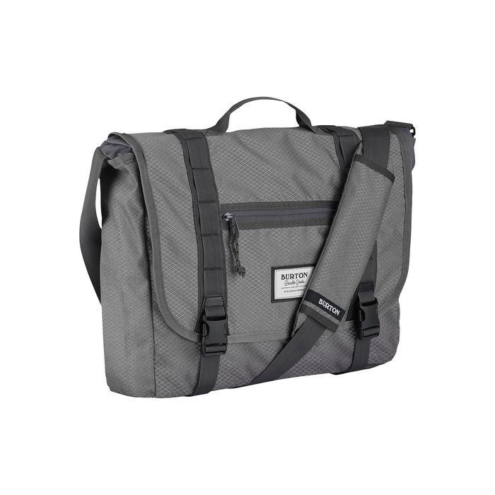 eea740fabd Burton Flint Messenger Bag borsa tracolla grigia porta pc portatile