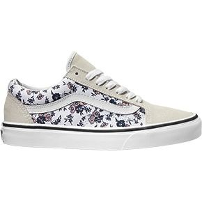 Vans Old Skool Ditsy Bloom bianche white fiori ragazza donna