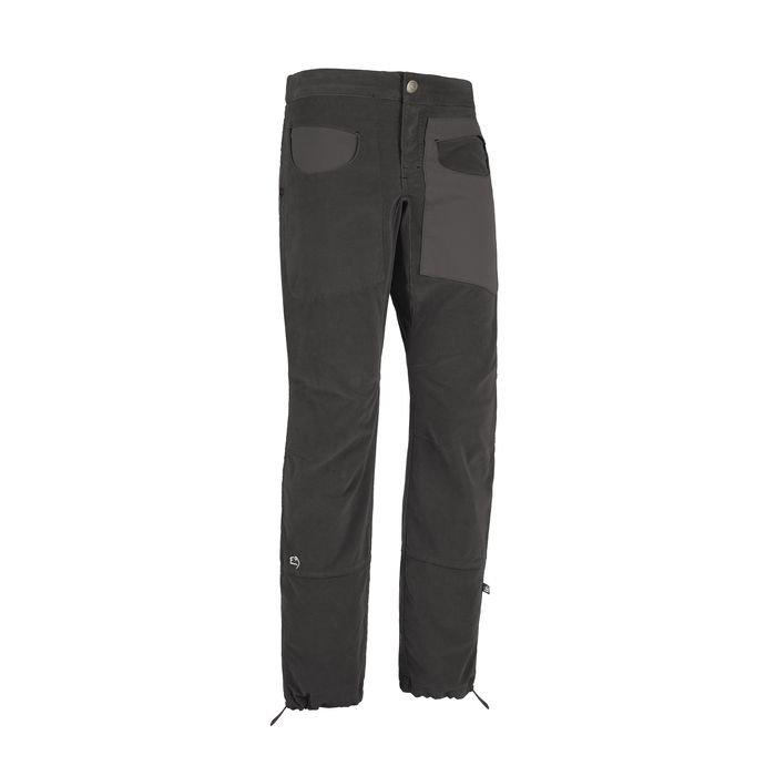 E9 pantalone Blat 1 Vs grigi da uomo velluto