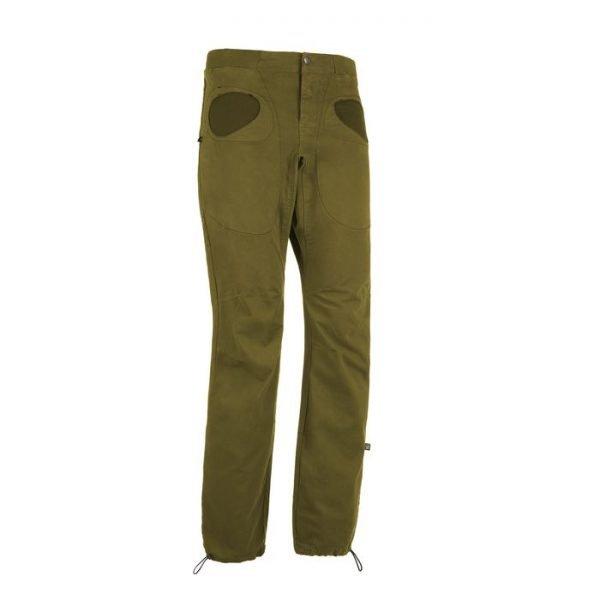 Enove E9 Pantalone Rondo Slim Invernale tasche tonde verde