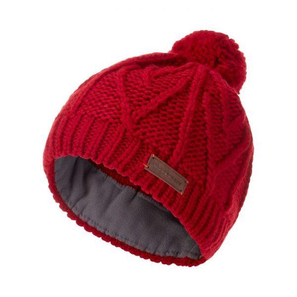 Mammut Cappellino Sally Beanie berretto cappellino in lana rosso