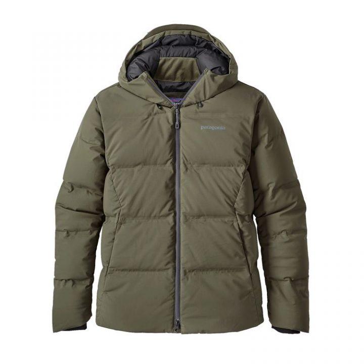 Patagonia Men's Jackson Glacier Jacket verde cappotto piuma