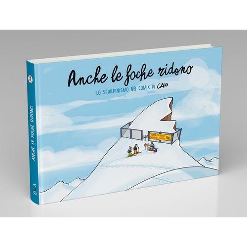 Caio Comix Nuovo Libro sci alpinismo fumetto libro