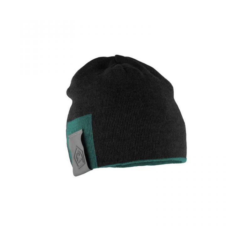 Enove cappellino Door E9 nero blu petrolio