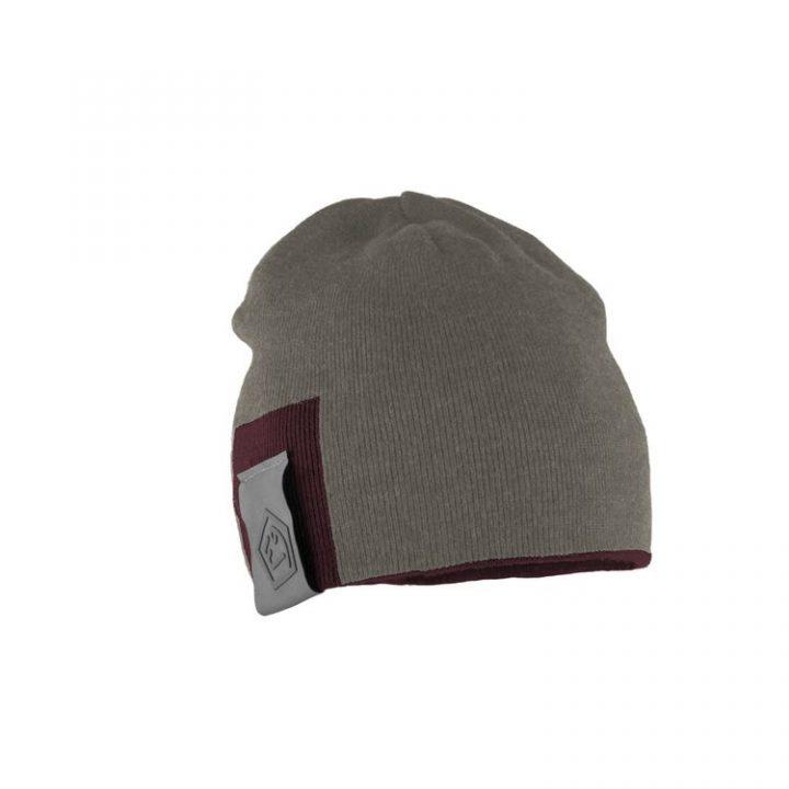 Enove cappellino Door E9 grigio bordeaux