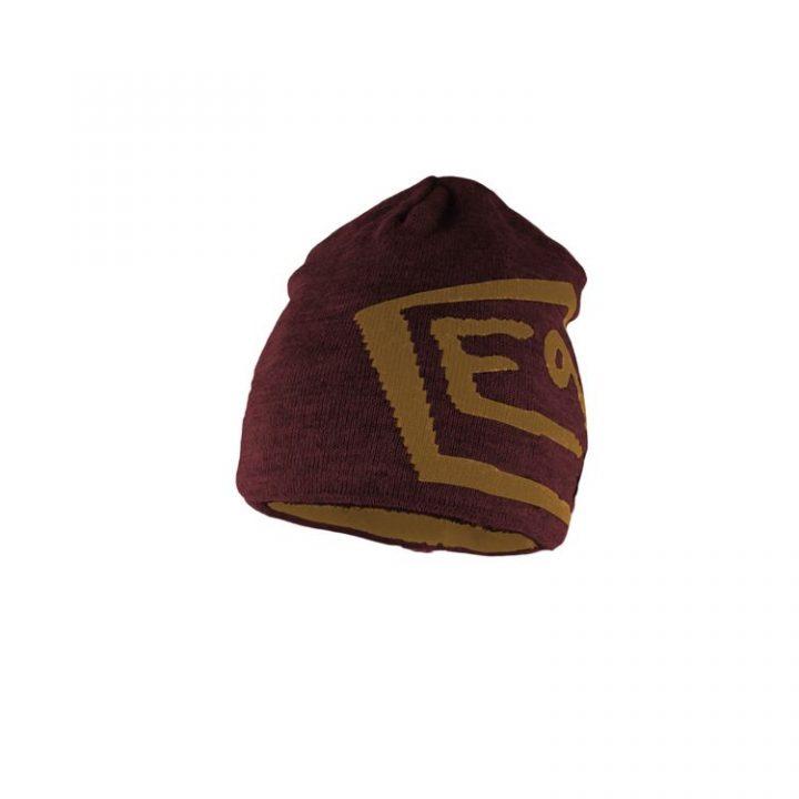 Enove cappellino E9 T marrone rosso granata