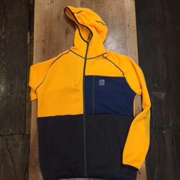 Crazy Idea Jkt Nation Man pile multi colore giallo blu grigio caldo uomo