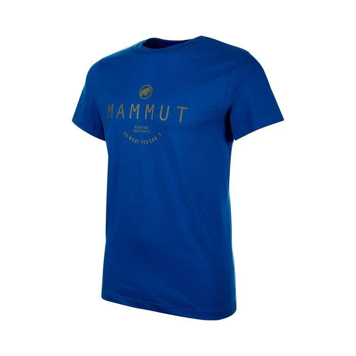Mammut T-shirt Uomo Seile men blue