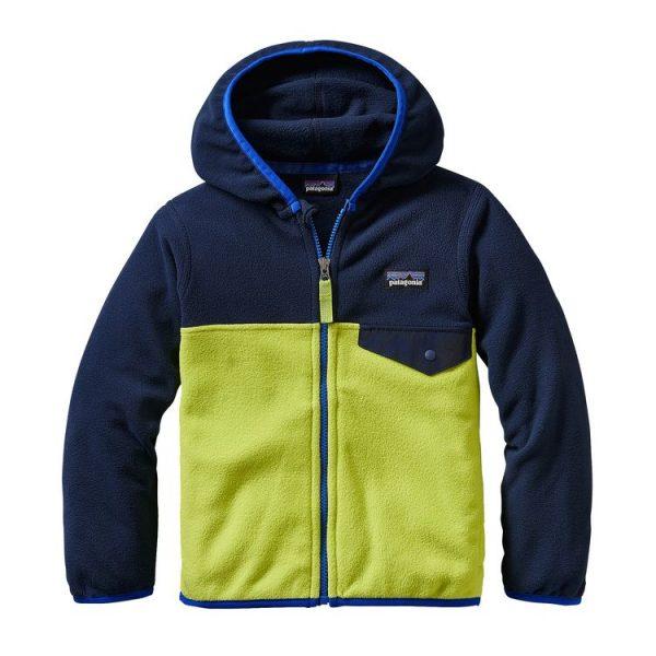 Patagonia Baby Micro Snap-T Fleece Jacket pile bambino 2 3 4 5 anni