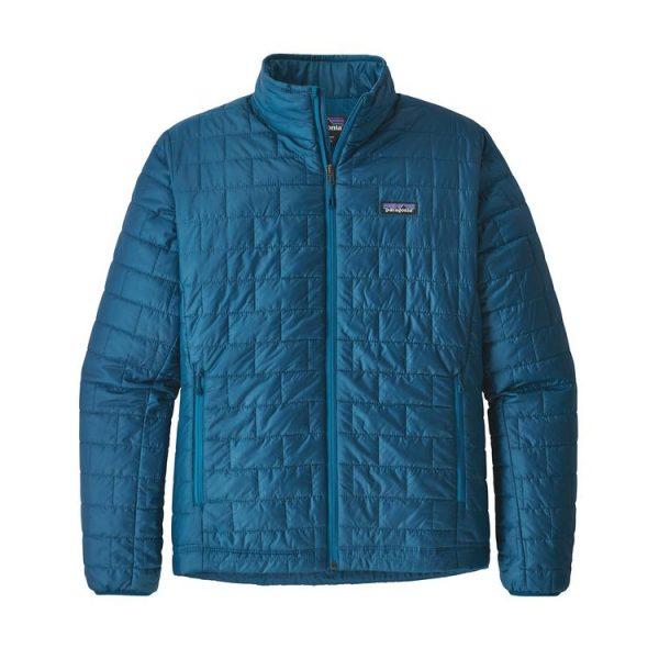 Patagonia Giacca Uomo Men's Nano Puff Jacket 84212_BSBA giacca uomo blu sintetica imbottitura 100 grammi