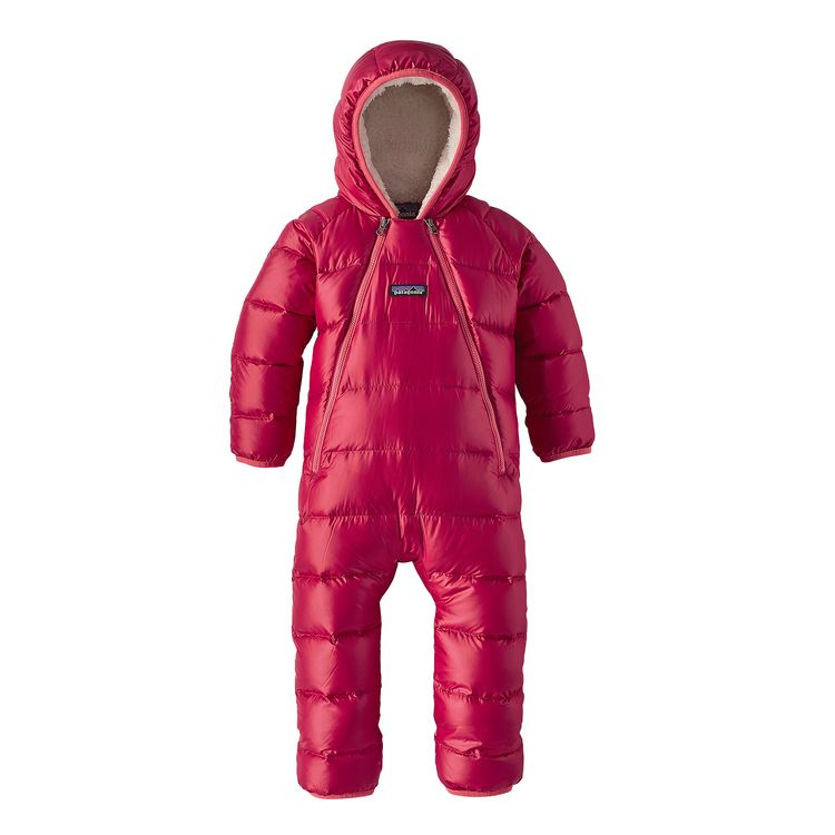 Patagonia Infant Hi Loft Down Sweater Bunting Tutone In