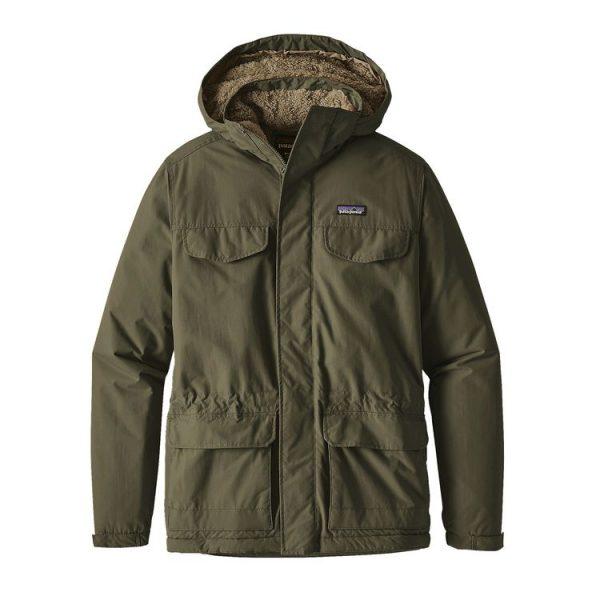 Patagonia Men's Isthmus Parka giacca uomo classica cittadina verde