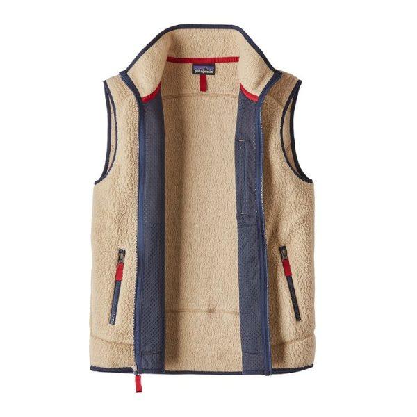 Patagonia Men's Retro Pile Fleece Vest gilet uomo vintage
