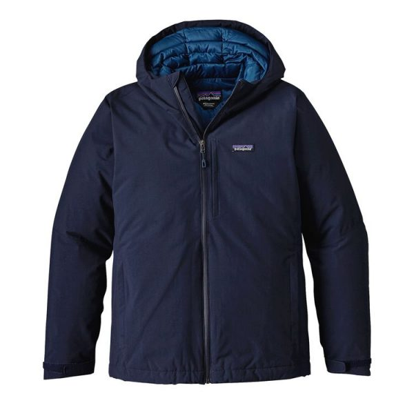 Patagonia Men's Windsweep Down Hoody blu cappotto uomo maschile caldo imbottitura in piuma