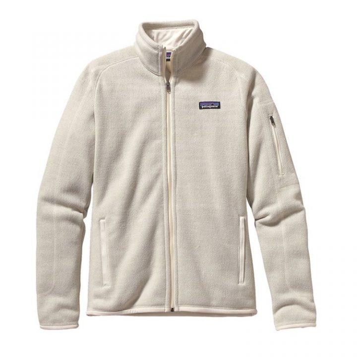 Patagonia Women's Better Sweate Fleece Jacket pile bianco