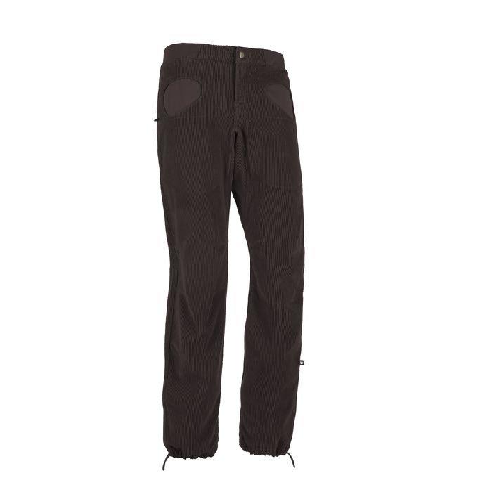 E9 Pantalone uomo Rondo Vs pantalne velluto coste larghe maschile marrone