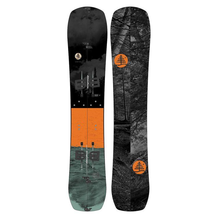 Burton splitboard dump truck family tree snowboard divisibile alpinismo - Marche tavole da snowboard ...