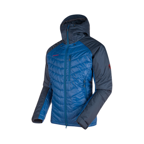 Mammut Giacca Imbottita Uomo Rime Pro IN Hooded Jacket Men piumino  primaloft blu marine 994bdc35dc0