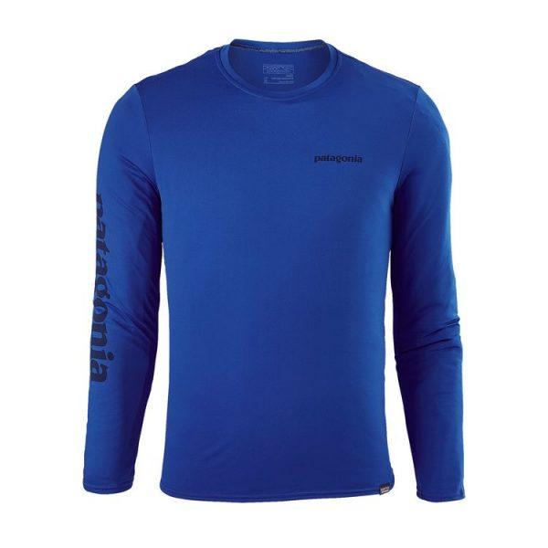 Patagonia Men's Capilene Daily Long-Sleeved Graphic T-Shirt maglietta manica lunga tecnica da uomo