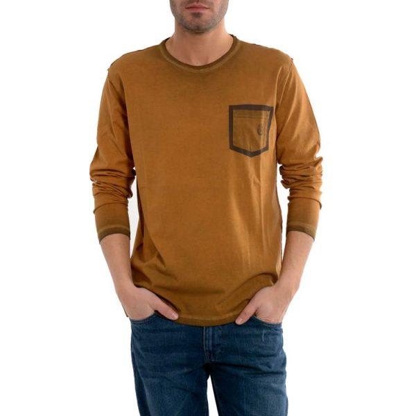 Scorpion Bay T-shirt Manica Lunga Mte3427 ocra arancione