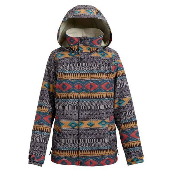 Burton Jet Set Jacket Women giacca snowboard donna fantasia