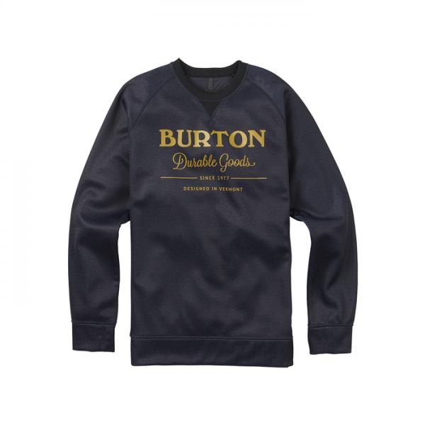 Burton Bonded Crew Men felpa senza cappuccio maschile uomo ragazzo