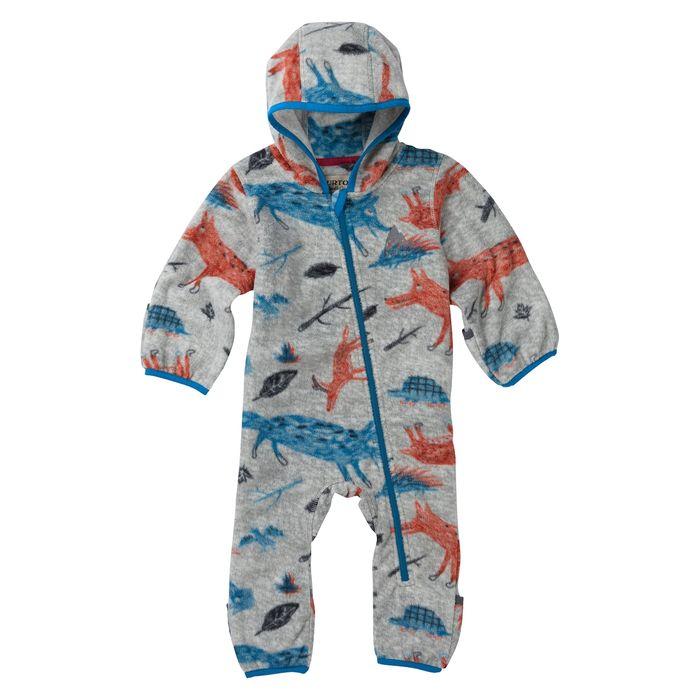 Burton Kids Mini Infant Fleece Onesie Tutina Intera Pile neonato bimba 0fd0791de21d