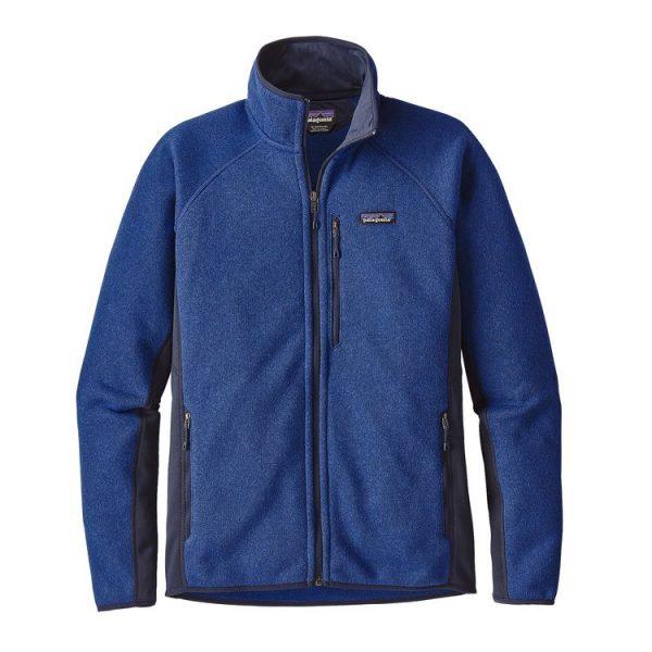 Patagonia Men's Performance Better Sweate Fleece Jacket pile tecnico uomo blu