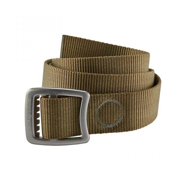 Patagonia Tech Web Belt cintura maschile uomo fibbia in metallo