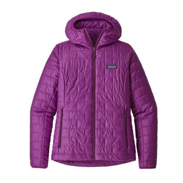 Patagonia Women's Nano Puff® Hoody giacca donna 100 grammi sintetico montagna