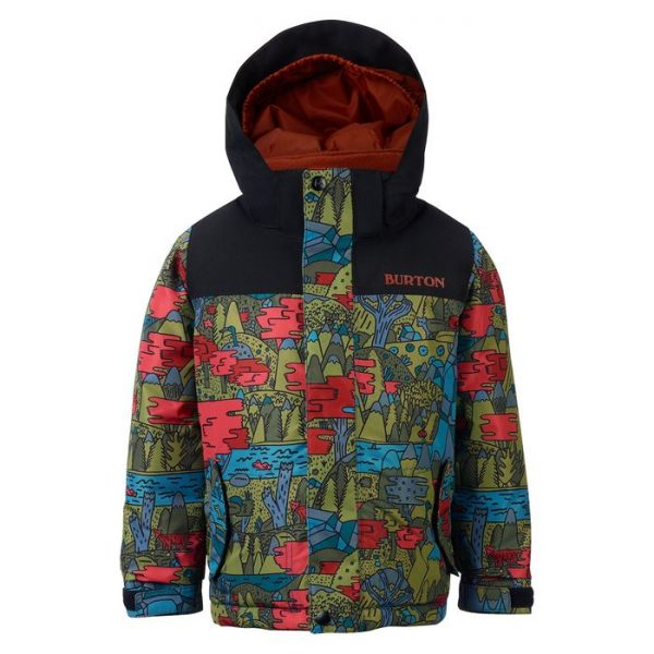 Boys' Burton Minishred Amped Jacket giavva sci snowboard neve bimbo