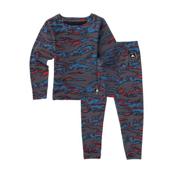 Kids' Burton Minishred Fleece Set sotto tua sci snowboard neve bambino