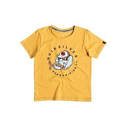 Quicksilver Slub Bobo T-shirt Bimbo 3 4 5 6 anni