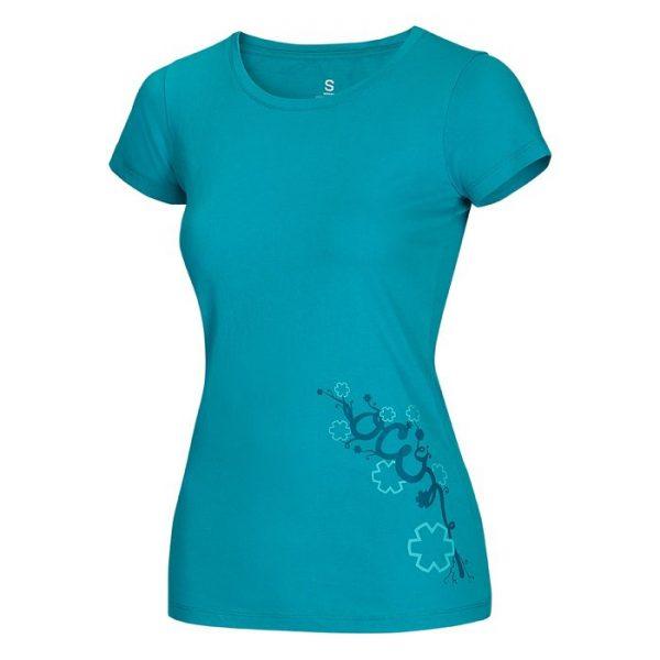 Ocun Blooms T maglietta Donna t-shirt arrampicata femminile