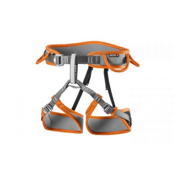 Ocun Twist Tech Imbrago Arrampicata cosciale regolabile arancione ferrate