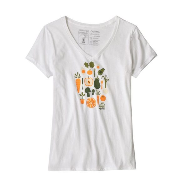Patagonia Women's Harvest Haul Organic V-Neck T-Shirt