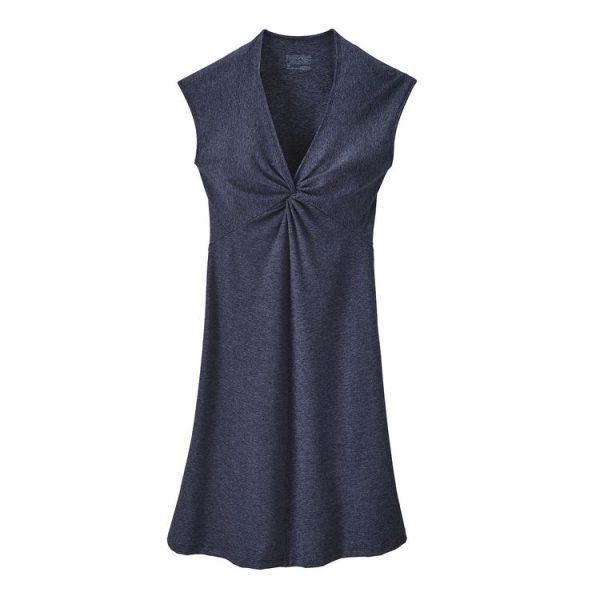 Patagonia Women's Seabrook Bandha Dress blu estivo abito vestito sportivo