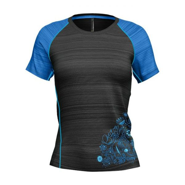 Crazy Idea T-shirt Weep Woman maglietta tecnica donna trekking corsa escursionismo