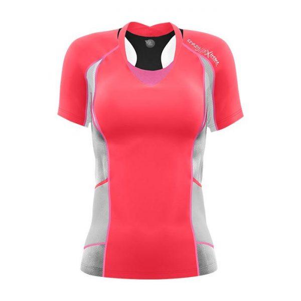 Crazy Idea T-Shirt Kinsej Woman maglietta donna corsa sky running tecnica