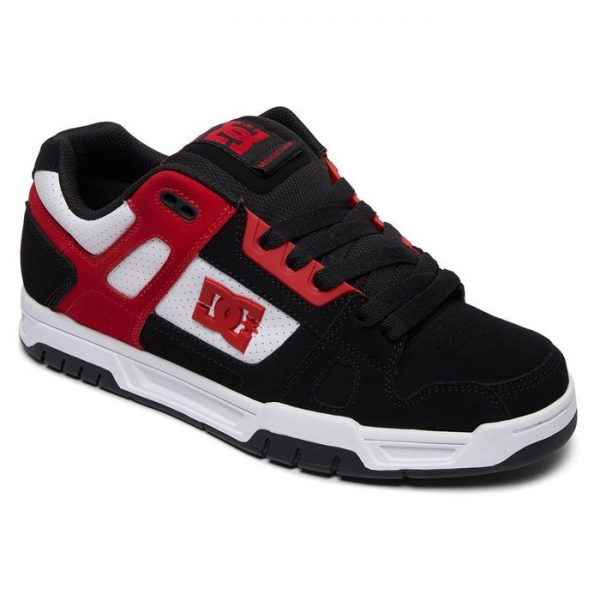 DC Shoes Stag nera rossa bianca