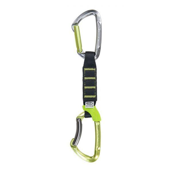 Climbing Technology Lime Set Ny Pro rinvio nylon 12