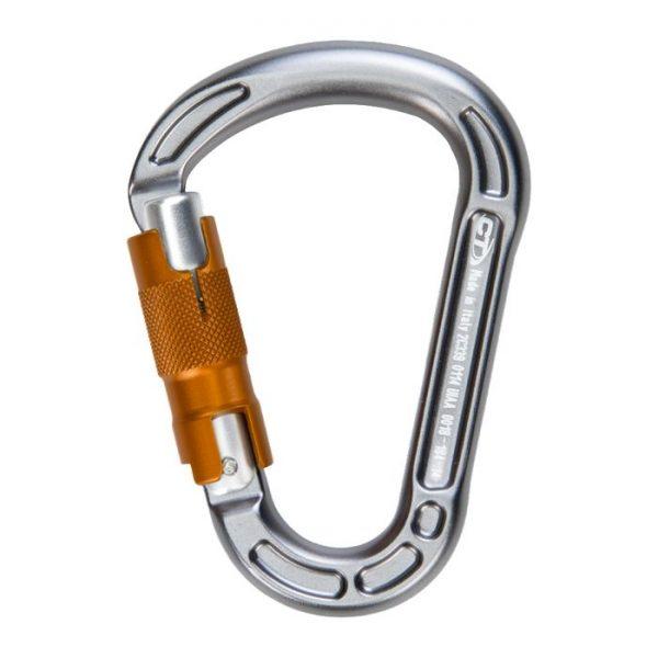 Climbing Technology Moschettone Concept Wg twist lock alpinismo arrampicata