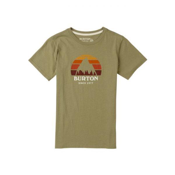 Kids' Burton Underhill Short Sleeve T Shirt bimbo ragazzo maglietta