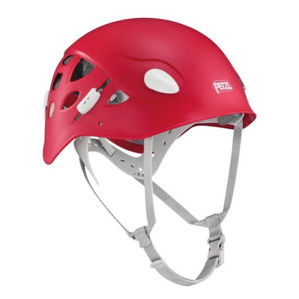 Petzl casco femminile Elia colore ciliegia rosso