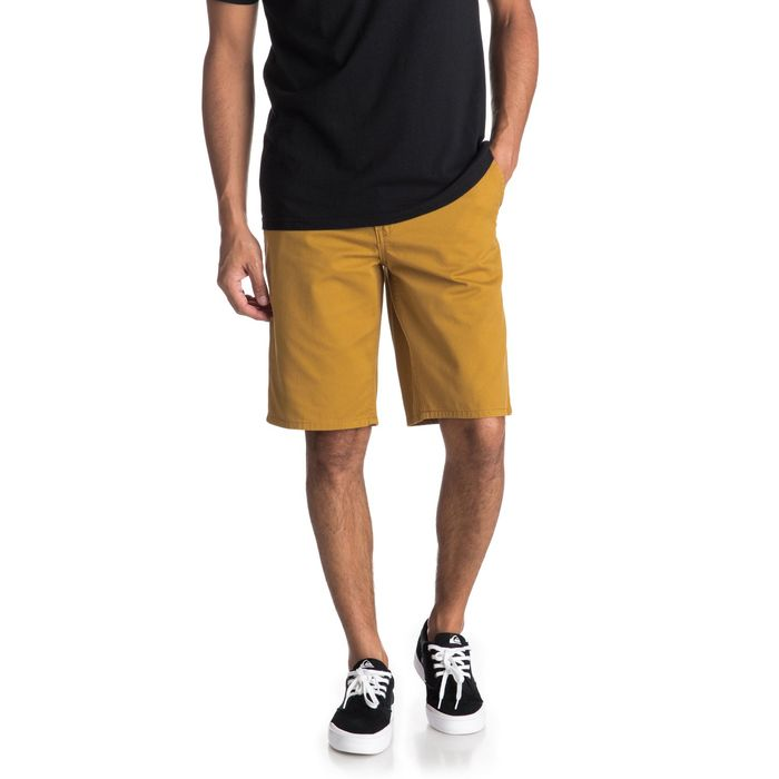 Quicksilver New Everyday 20 Bermuda Chino EQYWS03468 pantaloncino senape