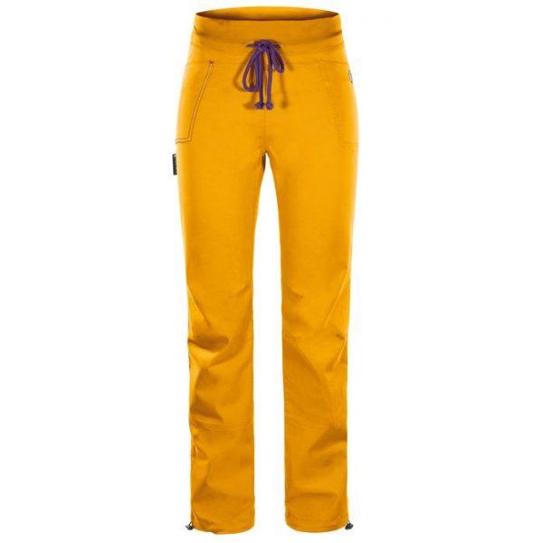 Rock Slave Grau 2.0 Pantaloni donna arrampicata gialli estivi